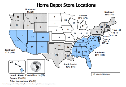 home depot locations in mn